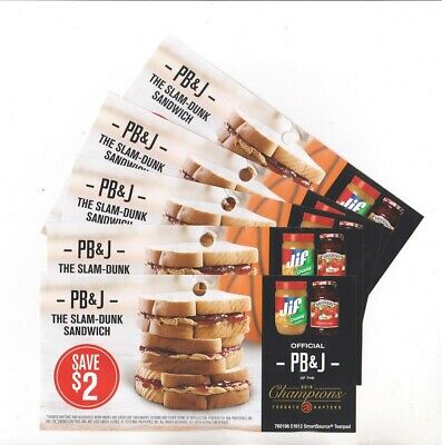 15x Save $2 on Smuckers Jam & Jif Peanut Butter 2020 Coupons (Canada)