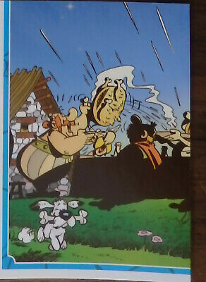 Carte panini N° 117   Asterix sticker carrefour 2019