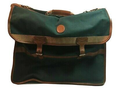 Vintage Ralph Lauren Polo Luggage Gym Duffel Green Travel overnight Carry On