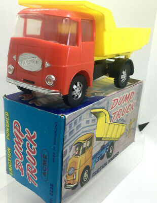 Hong Kong Plastic Lorry ACME Truck Friction Powered Mint Boxed Early 1960s