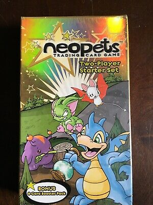 2003 Wizards Of The Coast Neopets Trading Card Starter Deck Booster Pack Sealed!