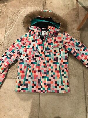 Girls ladies Roxy ski jacket Snowboard coat age 16 or Size 10