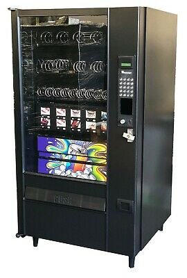 Automatic Product AP LCM4 Combo Snack, Candy and Drink Vending Machine