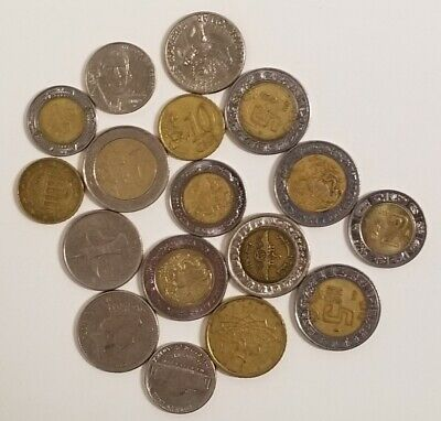 Coins From Around The World - 17 Coins Total