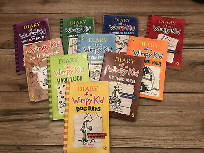 Diary of a Wimpy Kid Collection Jeff Kinney 10 Books Box Set Pack Double down