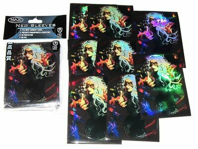 Max Protection 50 x Trading Card Sleeves ~ MASKED WITCH ~  MTG Pokemon Standard
