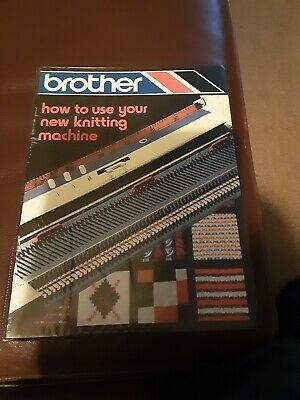 VINTAGE Brother Knitting Machine Manual KH-840