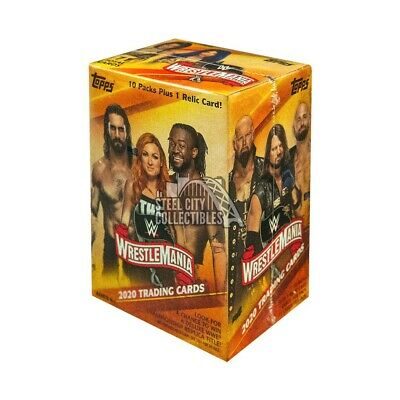 2020 Topps WWE Road To Wrestlemania Wrestling Blaster Box PRESALE 3/12/20