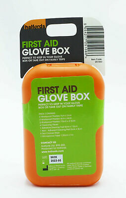 First Aid Emergency Kit Halfords Car Travel Hard Case Box BUY 1 GET 1 20% OFF