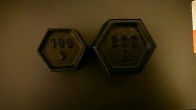 Test weights 100g and 200g new