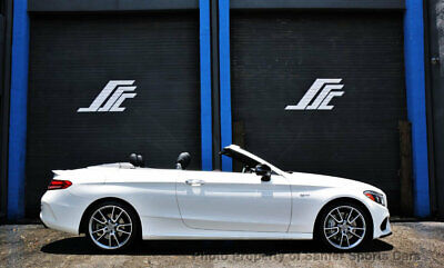 2017 Mercedes-Benz C-Class AMG C 43 4MATIC Cabriolet 2017 Mercedes Benz C43 Convertible 4Matic 14K 1 Owner Miles Financing Available