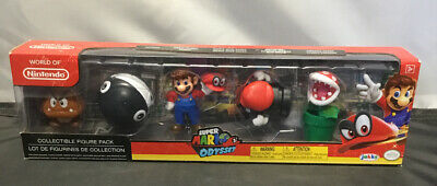 World Of Nintendo Super Mario Odyssey Action Figure Set Of Five