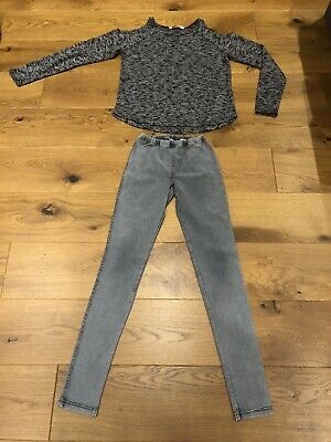 H&M girls outfitset -age 11-12 yrs-next day post-London