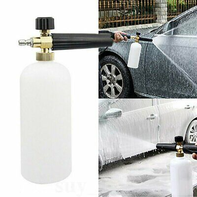 Car Wash Pressure Washer 1L Wash Bottle Snow Foam Lance with 1/4 Quick Connector