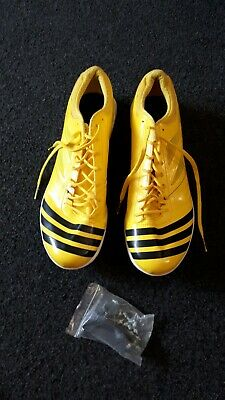 ADIDAS ADIZERO Long Jump Shoes Track & Field Running worn once only Mens/Boys 13