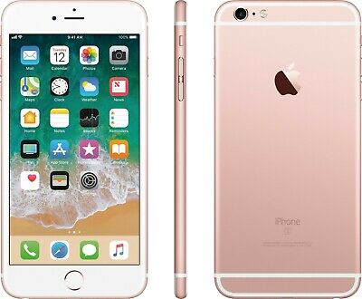 AT&T / Cricket Apple iPhone 6s 16GB Rose Gold GSM 4G LTE Smart Cell Phone *7/10*