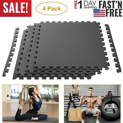 Best Step I900506 2PK of 9 Interlocking Comfort Flooring Tiles 72 Sq Ft New