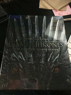 Game of Thrones Season 8 (Blu-ray/Digital)(New/Sealed)