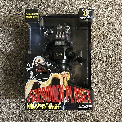 IN HAND Forbidden Planet Robby The Robot electronic 12 inch Walmart Exclusive!