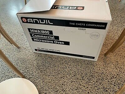 Brand new Anvil commercial microwave oven MWA1800