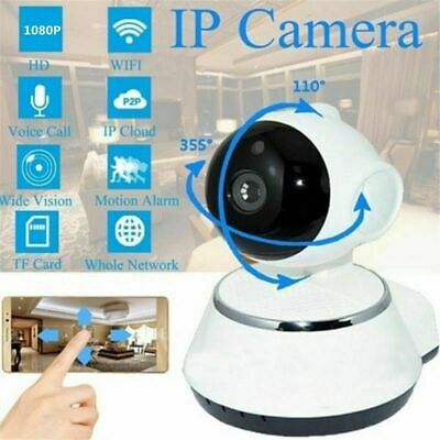 HD 1080P WiFi Smart Home Wireless Security IP Camera IR Night Baby Monitor CCTV