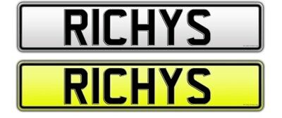 RICHYS Cherished number plate on retention