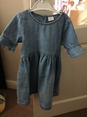 Girls Denim Dress Purchased From Next Aged 2/3 Years Immaculate Condition