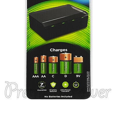 Duracell Hi-Speed Multi Charger for NiMH Rechargeable batteries No Cells CEF22