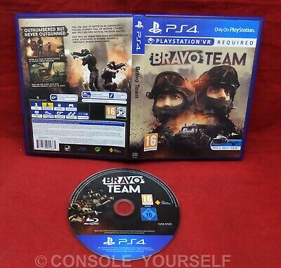 Bravo Team - Used - Playstation Vr Required - Ps4 - Uk