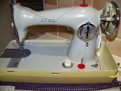 Solid Jones Brother S/Stitch Drop Feed Semi Industrial Sewing Machine,Serviced
