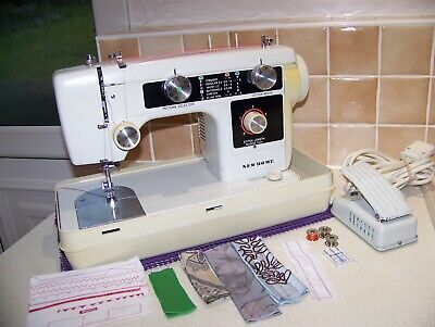Renowned Janome Newhome Z/Zag Multistitch Heavy Duty Sewing Machine,Serviced