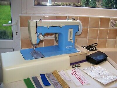 The Famous Singer Merritt Z/Z Semi Industrial Sewing Machine,Case/Book,Serviced