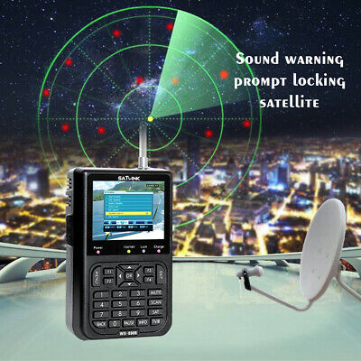 Buscador satelital Finder  1080P Satlink WS6906 3.5inch Digital localizador