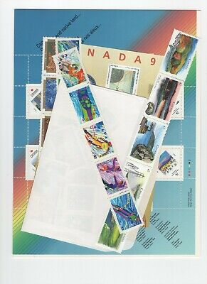 Canada 1992 Year Set From Annual Collection  Fv $31.68