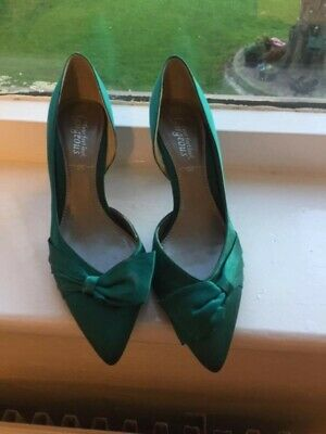 Emerald Green 'New Look' Shoes, size 6, hardly, if at all, worn.
