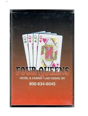 Vintage Four Queens Hotel & Casino Playing Cards Deck Las Vegas Nevada NOS new