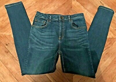 Boys River Island Skinny Fit Denim Jeans ~ 12 Years ~ Good Condition
