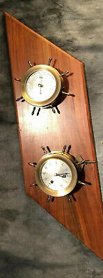 Schatz Ship Bell 8 Day 7 Jewels, Holosteric Compensated Barometer, Chelsea Key
