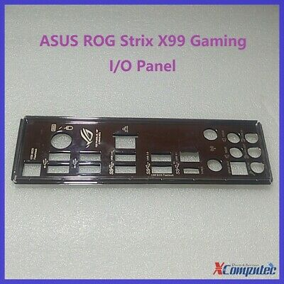 I/O IO Shield Back Plate Panel For Asus ROG Strix X99 Gaming Motherboard