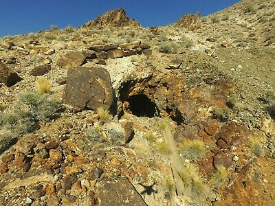 Gold Mine Nevada Mining Claim Tonopah Lode Copper Silver Shaft Tailings