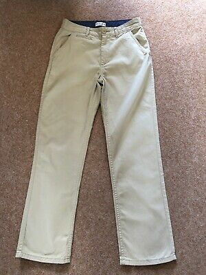 M&S Indigo 12 Years Boys Chino Trousers