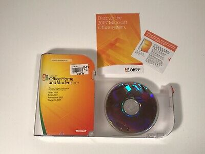 Microsoft Office Home and Student 2007 w/ Product Key
