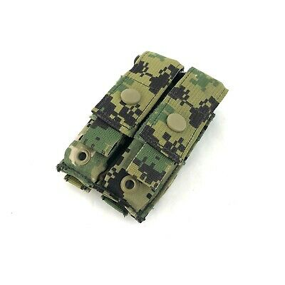 Eagle Industries AOR2 Double Pistol Mag Pouch, Military Flat 2 x 1 MOLLE 5A2
