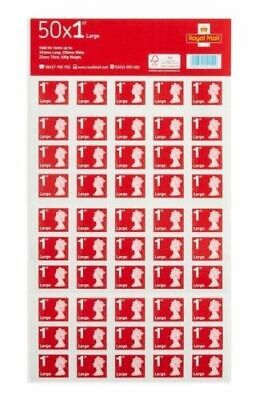 100 x 1st Class Large Letter Royal Mail Large Letter Stamps postage First Class