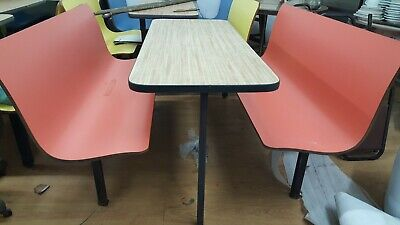 19 Plymold Restaurant Booths & Benches, Diner Booth, Table and Seating, Chairs