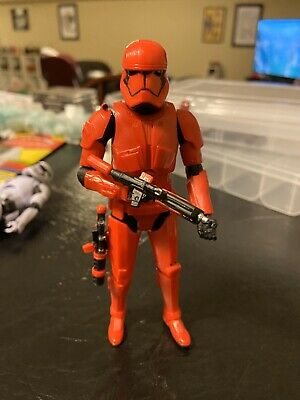 STAR WARS BLACK SERIES TBS RISE OF SKYWALKER FIRST ORDER sith trooper red 92