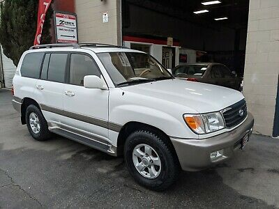 2000 Toyota Land Cruiser 100 Series 2000 TOYOTA LAND CRUISER AWD V8 *ONE OWNER CLEAN CARFAX- 35 DLR RECORDS- RARE!