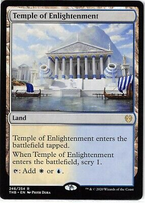 Temple of Enlightenment *Rare* Magic MtG x1 Theros Beyond Death