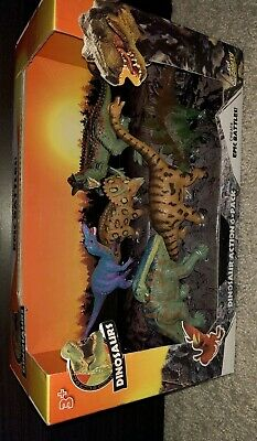 Kid Galaxy Dinosaurs Dinosaur Action 6 Pack