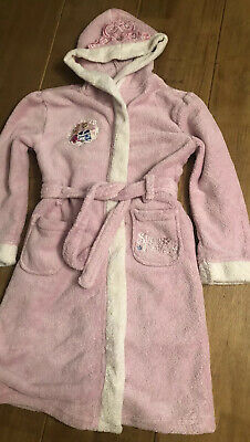 Pink Disney Princess Dressing Gown Age 7-8